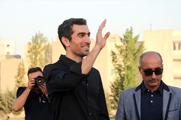 تماشاگر ویژه دیدار ایران - ونزوئلا + عکس
