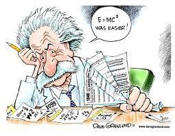 کاریکاتورحسابداری مالیاتی