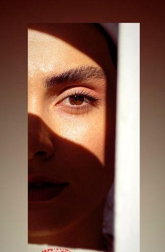 عکس چشمان زیبای دختر ستایش