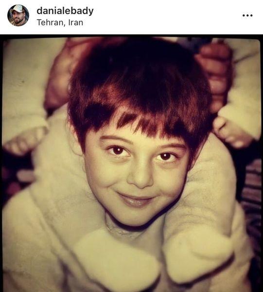 دانیال عبادی در کودکی + عکس