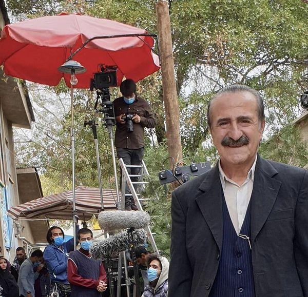 حضور دوباره مهران رجبی سر صحنه فیلمبرداری + عکس