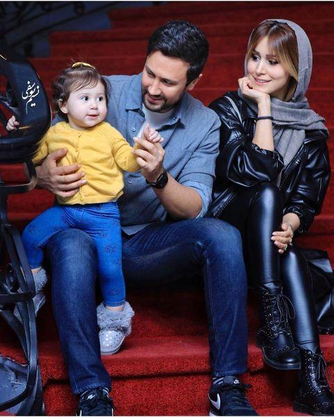 شاهرخ استخری و همسرش+عکس