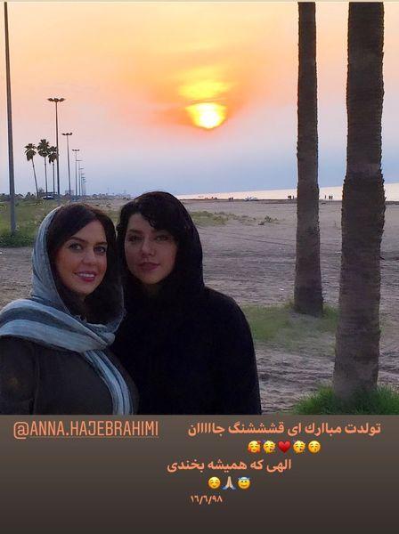 تولد قشنگ جان همسر شهاب حسینی