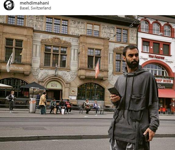 پیام محبت آمیز مهدی ماهانی از خارج از کشور به همه ی ایرانیان+عکس