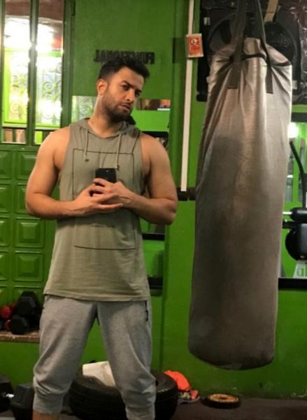 عکس ورزشکاری بنیامین بهادری