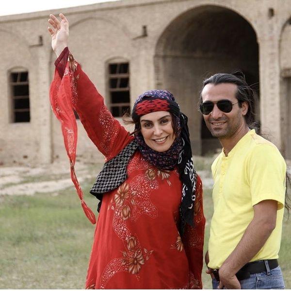 اولین آشنایی مرحوم ماهچهره خلیلی با همسرش + عکس