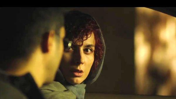 فیلم:: چهره متفاوت لیلا حاتمی در نخستین تیزر «نهنگ آبی»