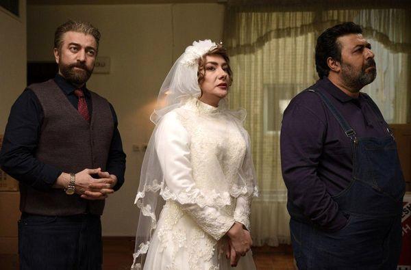 هانیه توسلی در لباس عروس+عکس