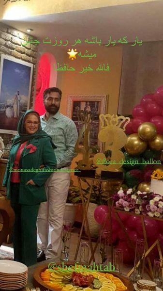 تولد لاکچری همسر بهاره رهنما در خانه شان + عکس