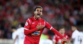 بد شانسی هافبک پرسپولیس در آستانه فینال لیگ آسیا
