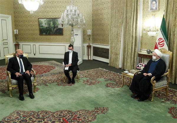 دیدار وزیر امور خارجه عراق با رئیسجمهور