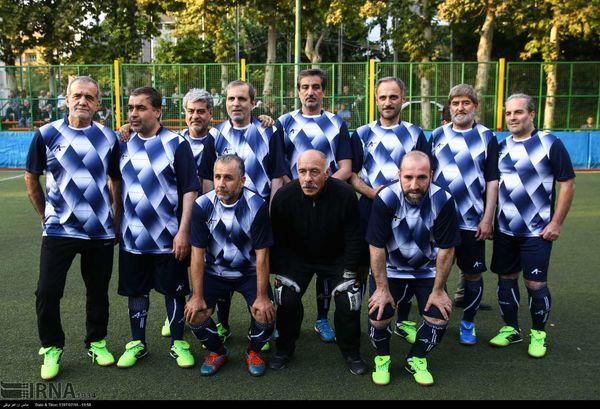 نمایندگان مجلس در لباس فوتبال+عکس