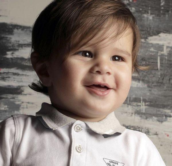 اولین عکس برسام پسر سام درخشانی