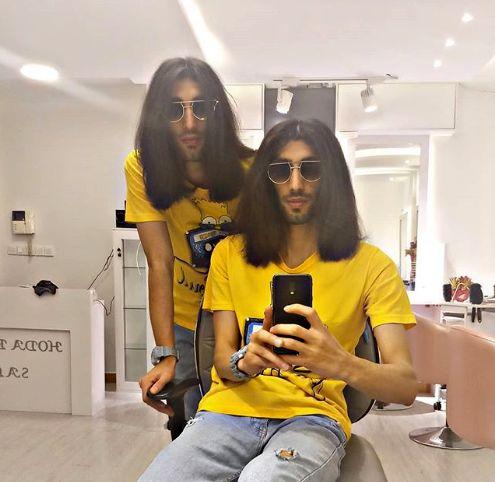 موهای بلند دوقلوهای پایتخت + عکس
