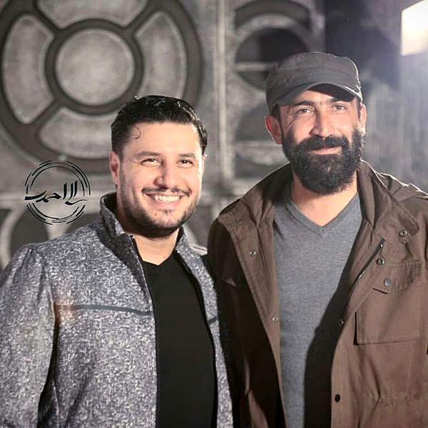 جواد عزتی و هادی حجازی فر در کنار هم + عکس