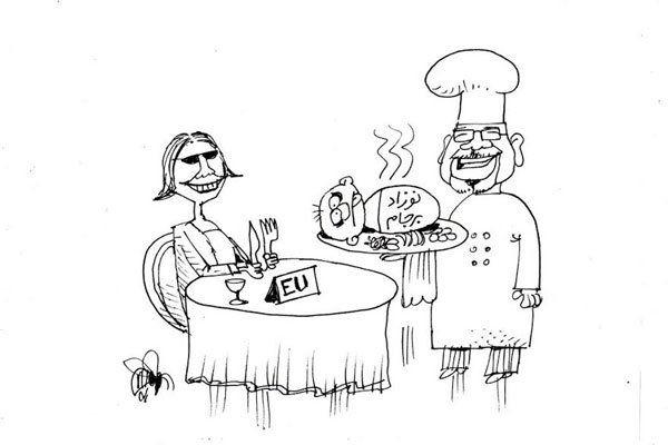 نمایش 10 کاریکاتور با موضوع «امضای کری تضمین است»