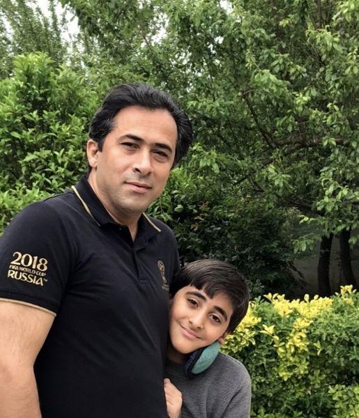 همسر و پسر المیرا شریفی مقدم + عکی