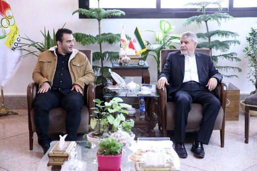 دیدار سهراب ورزش ایران با صالحی امیری