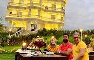بهاره رهنما و همسرش در هتلی لاکچری+عکس