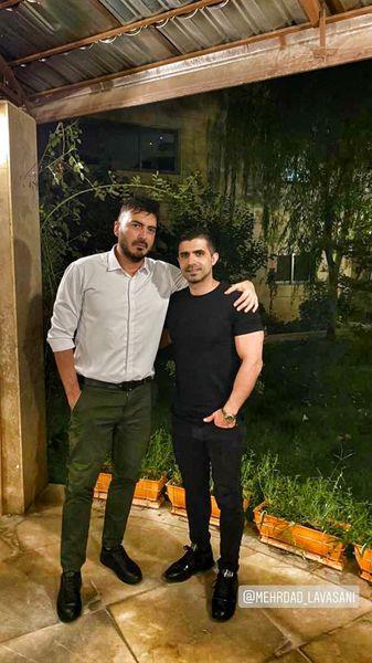 گردش نیما شاهرخ شاهی با دوستش + عکس