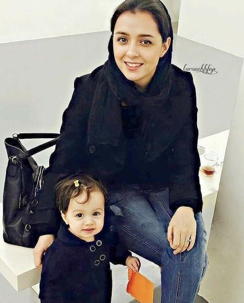 ترانه علیدوستی در کنار دخترش + عکس