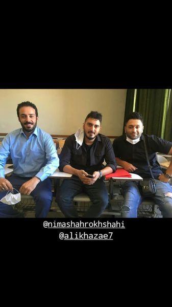 آقایون بازیگر روی صندلی های امتحان + عکس