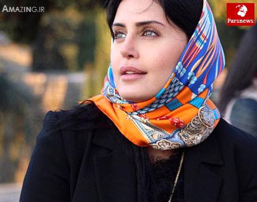 وقتی روسری الناز شاکردوست از اشکهایش خیس شد+عکس