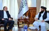 اولین دیدار سفیر ایران با نماینده طالبان