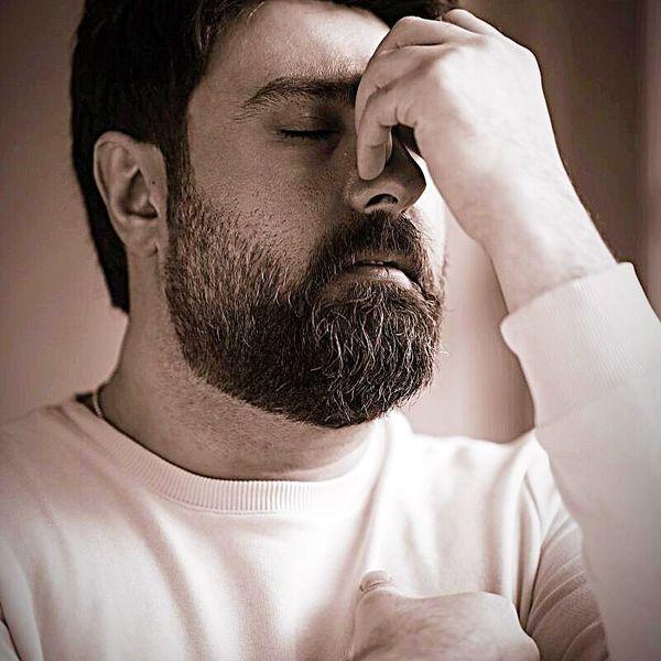 چهره درهم و ناراحت محمد علیزاده + عکس