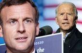 تقویت روابط میان آمریکا و فرانسه در گفتوگو تلفنی بایدن و ماکرون