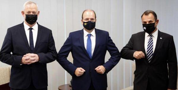 توافق وزرای دفاع اسرائیل، یونان و قبرس بر توسعه همکاریهای نظامی