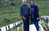 یکتا ناصر در کنار پدرش + عکس
