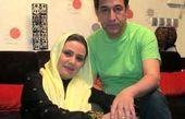 مجید اوجی همسر فلورا سام روی تخت بیمارستان