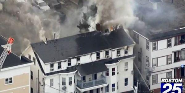 آتشسوزی مهیب در دو شهر آمریکا