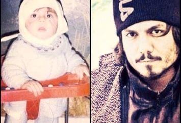 عکی با نمک و تپلی از کودکی عباس غزالی