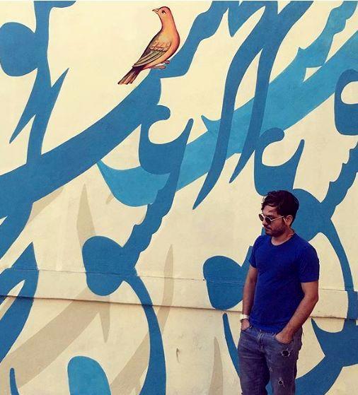 عکس پر از عشق عباس غزالی