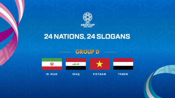 شعار تیم ملی فوتبال در جام ملت های آسیا انتخاب کنید