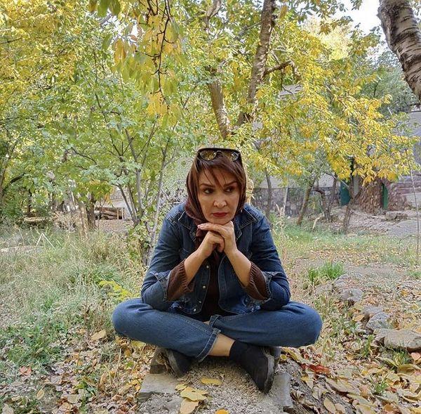 مینا نوروزی در دل طبیعت + عکس