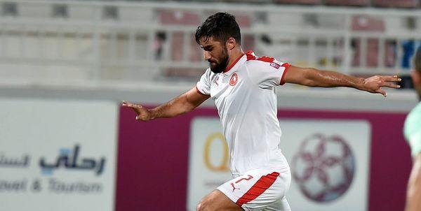 پیروزی العربی با گلزنی محمدی