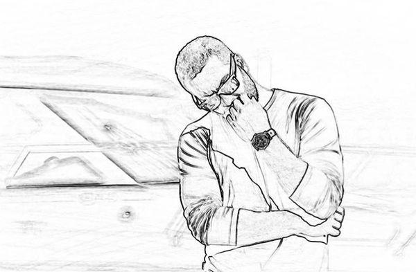 نقاشی میلاد کی مرام + عکس