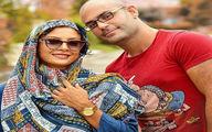 گردش تابستانی حدیثه تهرانی و همسرش در پارک+عکس