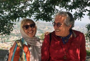 سالگرد ازدواج عاشقانه خانم بازیگر+عکس