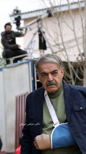 حمید لولایی دچار حادثه شد + عکس
