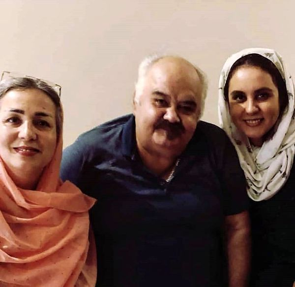 اکبر عبدی و همسر و دخترش در کنار هم + عکس