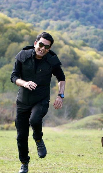 دویدن فرزاد حسنی در دل طبیعت + عکس