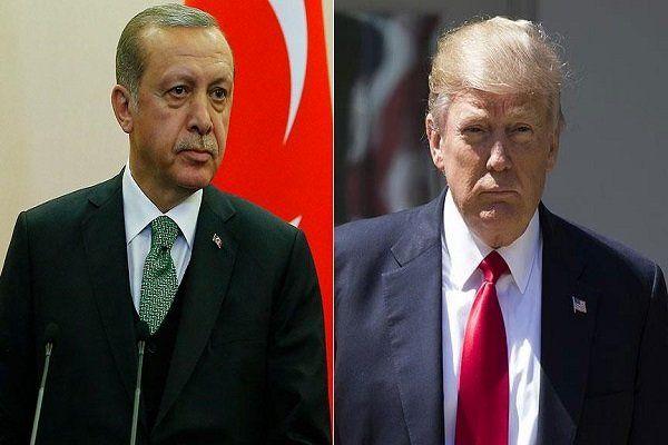 اردوغان و ترامپ دیدار کردند