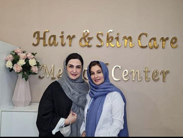 مریم شیرازی در سالن زیبایی + عکس