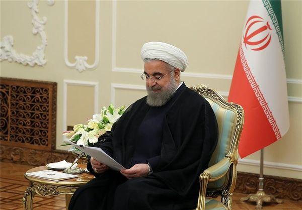 """قدردانی """"روحانی"""" از پیشرفتهای صنعت دفاعی"""