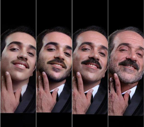 امیرکربلایی زاده از نوجوانی تا پیری+عکس