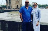 گردش زوج بازیگر در هند+عکس